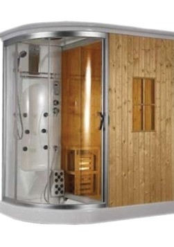 sauna doccia
