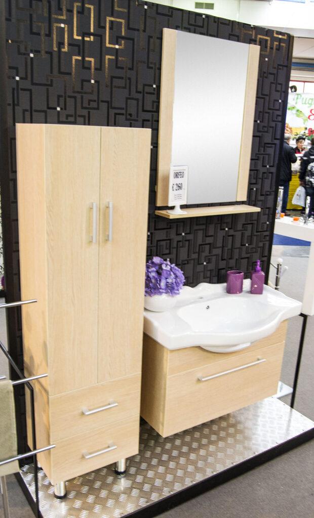 Mobile bagno con lavabo in ceramica offerte box per doccia for Offerte mobile bagno con lavabo