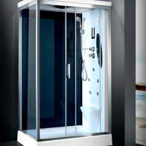 Cabina doccia multifunzione con idromassaggio lombare